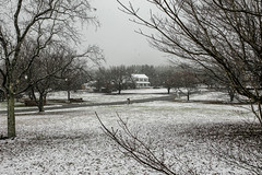 Early Dec. snow storm - Anderson S.C. (DT's Photo Site - Anderson S.C.) Tags: canon 6d andersonsc upstate south carolina scenic winter southern country america usa landscape home storm sigma 35mm14 art lens