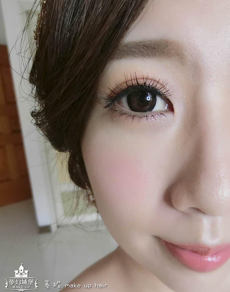 【新秘蓁妮】bride筱軒 訂婚造型 / 台中展華婚宴會館