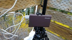 Snowbird Observation Deck Timelapes Setup (Jovan Jimenez) Tags: sony a6500 nikon seriese 50mm wifi charging with mycharge eseries series e camera 6500 f18 pancake lens snowbird observation deck timelapes gear