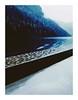 crystalfrontier (seba0815) Tags: ricohgrdiv bleachbypass color blue light ship water crystalfrontier grd rain raindrops waves seba0815 berchtesgaden königssee