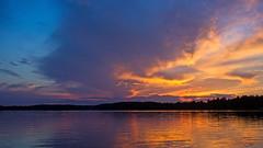 ''Good Heavens'' !! (Bob's Digital Eye) Tags: 2017 bobsdigitaleye canon clouds efs24mmf28stm flicker flickr h2o july lake lakesunsets silhouette skies skyline sunset sunsetsoverwater t3i water laquintaessenza