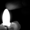 low lux (fe2cruz) Tags: finger tamron adaptall2 sp 90mm f25 α7r a7r alpha shadow dramatic lighting black white bw monochrome blackwhite blackandwhite candle wax flame hot fire wick 7dwf wednesdays macrocloseup