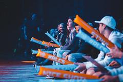 Crowd Thundersticks (Tim Bright) Tags: rlcswc rocket league rlcs psg esports nrg g2 mockit gale force chiefs rl event photography cloud9 c9 cloud 9 season 4 lan mgm national harbor theater teal orange