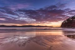 Dawn at the Beach - Seascape