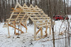 Framing Up (view2share) Tags: building build shed wood woods popple roof snow snowfall snowroof snowmobile reserve upperpeninsula uppermichigan northernmichigan northwoods northwood michigan mi houghtoncounty architecture november132017 november2017 november 2017 carpentry rural