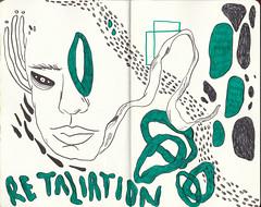 (Half Asleep in Frog Pajamas) Tags: cartoon sketch illustration creatures artist drawing markers watercolor artistjournal art sketchbook zine fanzine comic artbook moleskine moleskinesketchbook stabilo artdaily graffiti artists wreckthisjournal greece halfasleepinfrogpajamas girl boy head strangeart monster monstera plants pencil brain dailyart finearts acrylics pens pentel posca wallart
