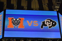 PATADISE JAM CHAMPIONSHIP (SneakinDeacon) Tags: mercer bears paradisejam colorado buffalos cu vinescenter pac12 southernconference socon