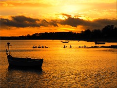 Evening mood on the Baltic Sea (Ostseetroll) Tags: deu deutschland geo:lat=5406256788 geo:lon=1076604366 geotagged ostseeküste schleswigholstein sierksdorf ostsee balticsea fischerboote fishingboats goldeneswasser goldenwater lübeckerbucht abendstimmung eveningmood