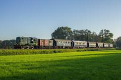 MBS 451 met laag zonnetje (Marco van Zelst) Tags: mbs ns 451 trein lokomotief