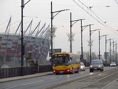 Jelcz M121I, #4945, MZA Warszawa (transport131) Tags: bus autobus mza warszawa ztm warsaw jelcz m121i