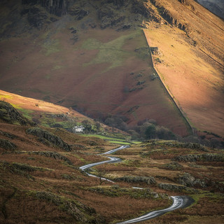 First Light: The Road to Yewbarrow
