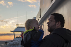 Paul and Andy (quinn.anya) Tags: paul andy sunset ferry marthasvineyard
