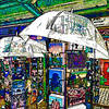 it could rain II (j.p.yef) Tags: peterfey jpyef germany hamburg umbrellas square yef postcards digitalart photomanipulation