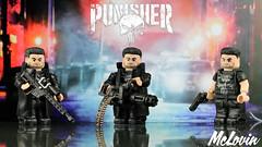 The Punisher (McLovin1309) Tags: punisher jon bernthal netflix marvel mcu comic comics superhero anti hero defenders custom lego minifig minifigure figure fig brickarms gbricks amazing armory minifigcat sidan