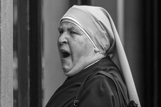Big Nun. A little tired.
