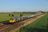 66742 - Glinton 25/11/17 (James Welham) Tags: glinton werrington junction spalding london kings cross 66742 47749 gbrf colas 1z42 hull abp mk1 mk2 mki mkii