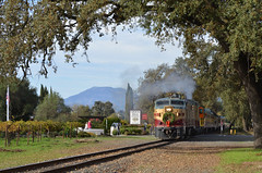 Another day in the Napa Valley (CN Southwell) Tags: napa valley rr railroad wine train alco fa fpa4