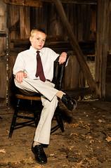 Environmental Contrast 2 of 2 (totjason) Tags: d850 photo shoot farm khaki blond handsome portrait