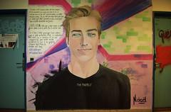 Louis (HBA_JIJO) Tags: streetart urban graffiti paris art france artist hbajijo wall mur painting aerosol peinture portrait message murale spray bombing urbain parole mots rehab2