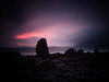 Guard (iczek) Tags: elgol scotland isleofskye skye landscape landscapephotography fujigfx gfx50 mountain rock sea longexposure 10stops filter lee sunset