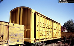 2880 Experimental goods wagon 21740 Midland Workshops 14 March 1982 (RailWA) Tags: railwa philmelling westrail 1982 experimental goods wagon 21740 midland workshops 14 march