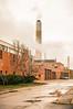 Smoke (ildikoannable) Tags: tower industry guelph universityarea street photography red reflection