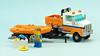 Coast Guard Truck (de-marco) Tags: lego town city truck coast guard 5stud boat trailer rescue