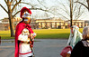 Roman Guard Checks the Travelers Passports Bethlehem Walk St. Andrews Lutheran Church and School Park Ridge Illinois 12-3--17 8804 (www.cemillerphotography.com) Tags: religious denomination belief reverence holy worship reenactment