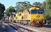 3MP1 Clapham 06/12/2017 (Dom Quartuccio) Tags: 3mp1 6042 6027 6010 6028 aurizon qrn intermodal train trains rail railway railroad sa south australia morning