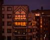 copper (Cosimo Matteini) Tags: cosimomatteini ep5 olympus pen m43 mzuiko45mmf18 london millenniumbridge dusk sunset reflection red orange purple architecture building copper