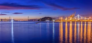 Bay Bridge Blue Hour