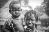 Ethiopia : Dimma, refugee camp , Dinka girl with young brother(B&W) (foto_morgana) Tags: africa afrika afrique afrotexturedhair analogphotography analogefotografie blackwhitephotography boy caractère character child childhood children dimma dinka doubleportrait editorialonly ethiopia ethiopië ethnic ethnicity ethnie etnia etniciteit expedition jeugd jeune jeunesse jong juventud karakter kodakportra160vc kroeshaar lightroom monochrome native nikoncoolscan nomodelrelease outdoor people persoonlijkheid photographienoiretblanc photographieanalogue portrait portret refugeecamp topazstudio traditionalculture travelexperience tribal tribe vuescan young youth zwartwitfotografie