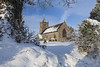 St James's Church (Dan Kemsley) Tags: stjamesschurch actontrussel winter winterscape staffordshire stafford religion snow canon leefilters trees woods england icy freezing dan kemsley