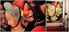 """""""Le portement de croix, détail"""" Jérôme Bosch (1450-1516), Jheronimus Bosch Art Center, S'Hertogenbosch, Brabant-Septentrional, Pays-Bas (claude lina) Tags: claudelina holland hollande paysbas nederland brabantseptentrional shertogenbosch boisleduc jérômebosch jheronimusboschartcenter tableaux peintures paintings oeuvres"""