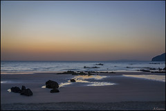 Calma al amanecer. (antoniocamero21) Tags: amanecer color foto sony paisaje marina rocas playa noja cantabria trengandin