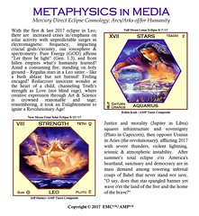EMC™ Metaphysics In Media 9.5.17 Mercury Direct Eclipse Cosmology (Elohim Media Communications) Tags: emc™metaphysicsinmedia9517mercurydirecteclipsecosmology emcmetaphysicsinmedia9517mercurydirecteclipsecosmology cosmology mercurydirect metaphysicsinmedia metaphysics spirituality 2017eclipses eclipses emc leo aquarius humanity ark elohim elohimmediacommunications elohimmedia