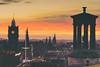 From Calton Hill (der_peste) Tags: edinburgh scotland caltonhill sky sundown sunset bluehour clouds balmoral dugaldstewartmonument princessstreet christmas christmas2017 edinburghchristmas colors color coloredsky