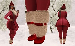 15 Days til Christmas (Chantel's Sultry ALLURE) Tags: ncore runawayhair kaitheleen avaway ryca red