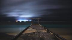 night seascape (Yuta U) Tags: exposure longexposure slow shutter sea ocean seashore seascape