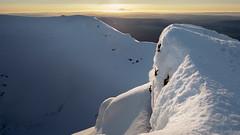 Entrance to the centre of the Earth (blue polaris) Tags: new zealand tongariro national park mt mount ngauruhoe volcano sunset taranaki landscape