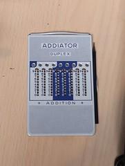 Addiator — mechanischer Taschenrechner zum addieren und subtrahieren (stiefkind) Tags: vcfb vcfb2017 vcfb17 vintagecomputing addiator