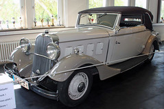Erased from history (Schwanzus_Longus) Tags: automobile cabrio cabriolet car classic convertible erased german germany gustav hans history melle museum rare sport sports typ vehicle white röhr 8 f old fahrzeug auto