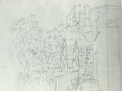 Vistas desde la terraza de Gallipienzo
