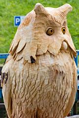 Insel Rügen, Putgarten - Rügenhof, Eule Holzstatue (www.nbfotos.de) Tags: inselrügen putgarten rügenhof kaparkona eule owl holzstatue statue skulptur sculpture mecklenburgvorpommern