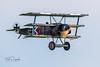 Fokker DR1 Replica, G-CFHY, 556/17 (flyer_2001) Tags: airfield greatwardisplayteam fokkerdr1replica fokkerdr1 55617 museum iwm battleofbritain gwdt ww1 airshow imperialwarmuseum gcfhy duxford