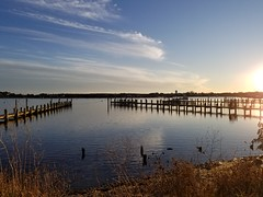 Sunset at the pier (quinn.anya) Tags: pier water marthasvineyard edgartown