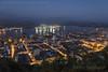 Santos (Stefan Lambauer) Tags: centro night nightshot porto harbour city lights downtown sea monteserrat stefanlambauer 2017 brasil brazil santos sãopaulo br