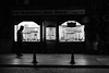 just follow the signs / eyes that never blink (Özgür Gürgey) Tags: 2016 35mm bw d750 dxonfx darkcity eminönü nikon evening lowlight pavement people shopwindow signs silhouette street istanbul