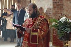 43. Первое богослужение в храме г.Святогорска 30.09.2014