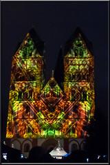 Lichtfestival (karlsbilder) Tags: licht light lightshow limburg limburgweilburg dom kathedralen cathedrale color farben bunt hessen